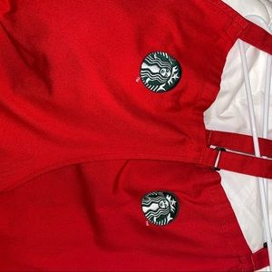 RARE New Starbucks Holiday Apron (2 Pack)